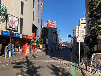 朝霞台駅から黒須税理士事務所までの行き方06