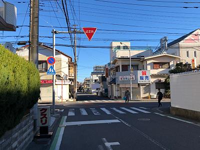 朝霞台駅から黒須税理士事務所までの行き方07