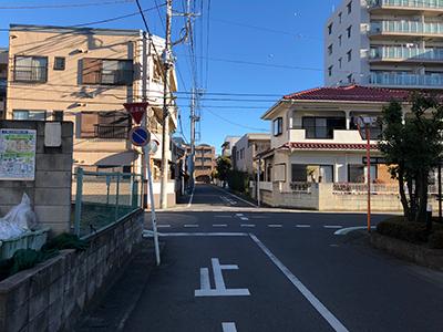 朝霞台駅から黒須税理士事務所までの行き方08